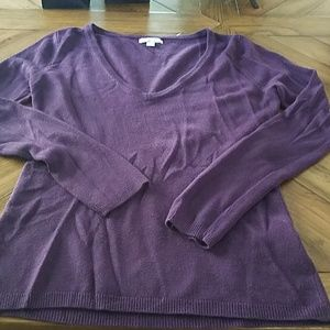 New york and company fitted cashmere sweater.